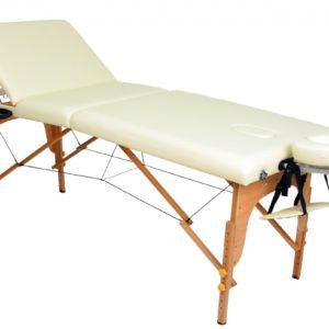 Массажный деревянный стол(Кушетка) три секции