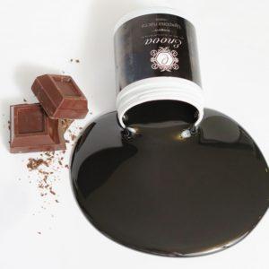 Сахарная паста ENOVA Black Sugaring средняя (черная с ароматом шоколада) 700 г