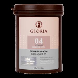 Cахарная паста для шугаринга GLORIA бандажная 0,33 кг