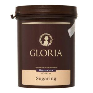Cахарная паста для шугаринга GLORIA бандажная 1,8 кг
