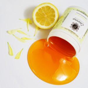Сахарная паста ENOVA Sugaring супер-мягкая 700 г (желтая с ароматом лимона и лайма)