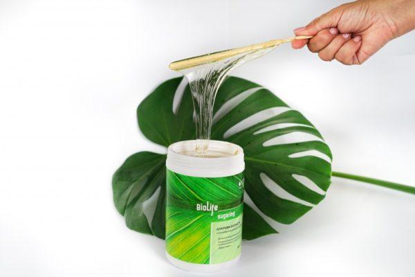 Сахарная биопаста ТМ BioLife sugaring № 5. Hard (плотная)
