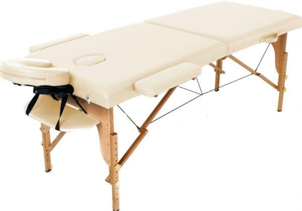 Массажный деревянный стол (Кушетка) две секции