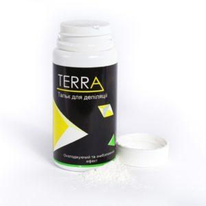 Тальк для эпиляции с ментолом ТМ TERRA