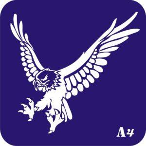 Трафареты для био тату 15×15 см «животные»