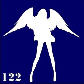 Трафареты для био тату 6×6 см «girl»