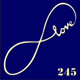 Трафареты для био тату 6×6 см «любовь 2»