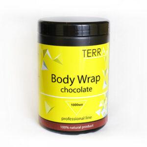 Обертывание Body Wrap Сhocolate TERRA тонизирующее 1000 мл