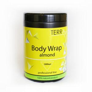 Обертывание SPA Body Wrap Almond TERRA мигдаль, с лифтинг-эффектом 1000 мл